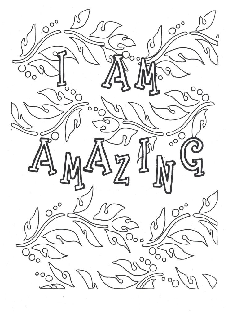 38 best Self-Love Coloring Pages images on Pinterest | Coloring ...