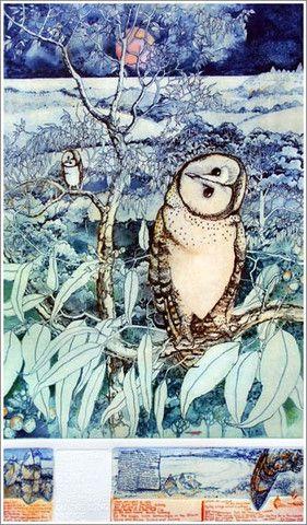 Janet Ayliffe Masked Owl