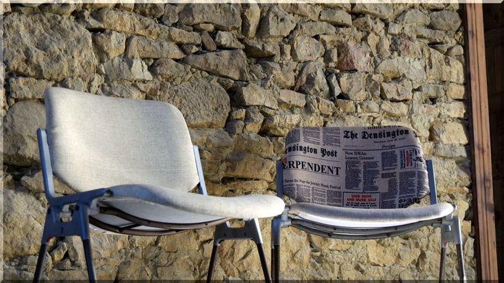 ipari loft stílusú székek