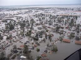 St Bernard Parish after hurricane Katrina.