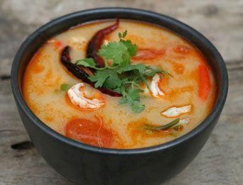 TOM YUM SOUP - Thai food