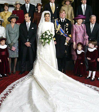 15 vestidos de noiva da realeza   Princesas reais - Princesa Máxima – Holanda