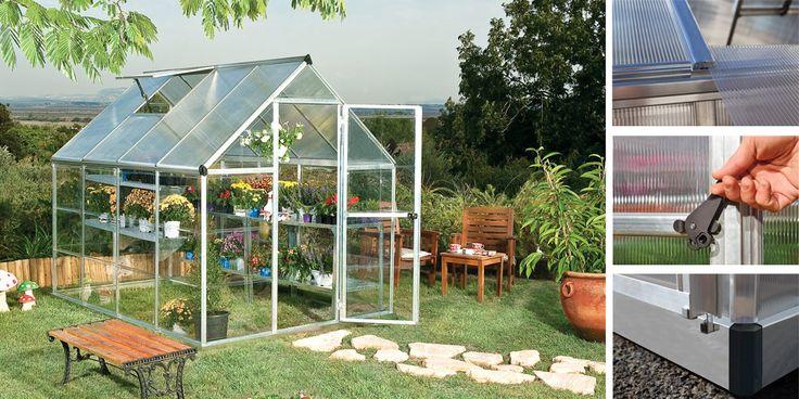 9 best oogarden les serres de jardin images on pinterest budget green houses and greenhouses. Black Bedroom Furniture Sets. Home Design Ideas