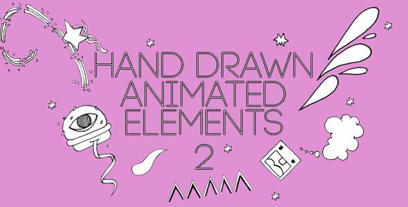 Hand Drawn 02 (Pack of 47)