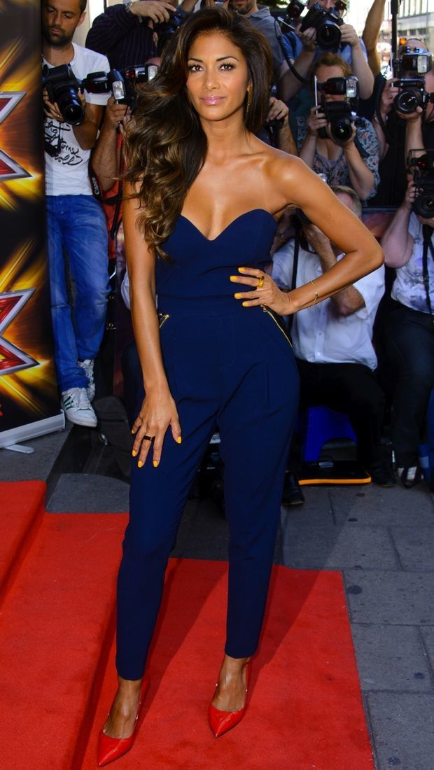 Nicole Scherzinger Launches the Latest Season of The X Factor in Three Floor - theFashionSpot
