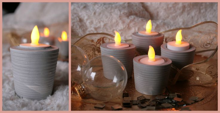 77 best Bougeoirs images on Pinterest Christmas decor, Crafts and