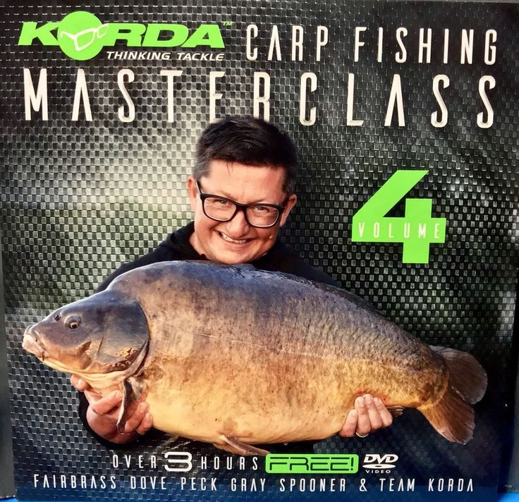 Korda Carp Fishing Masterclass Volume 4 Carp Fishing DVD Hooks Rigs Tackle Tips