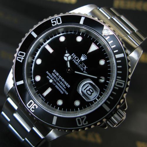 Rolex Watches For Sale > Rolex - SUBMARINER DATE 16610   £3,995.00
