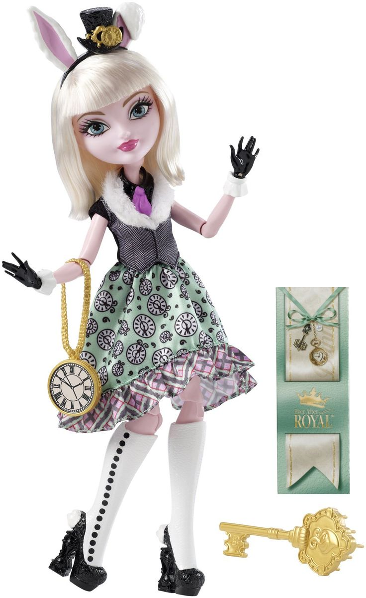 Amazon.com: Ever After High Bunny Blanc Doll: Toys & Games