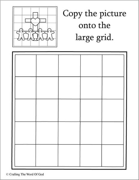 Copy The Picture- Jesus Loves The Little Children (Activity Sheet) Activity sheets are a great way to end a Sunday School lesson. They can serve as a great take home activity. Or sometimes you just…