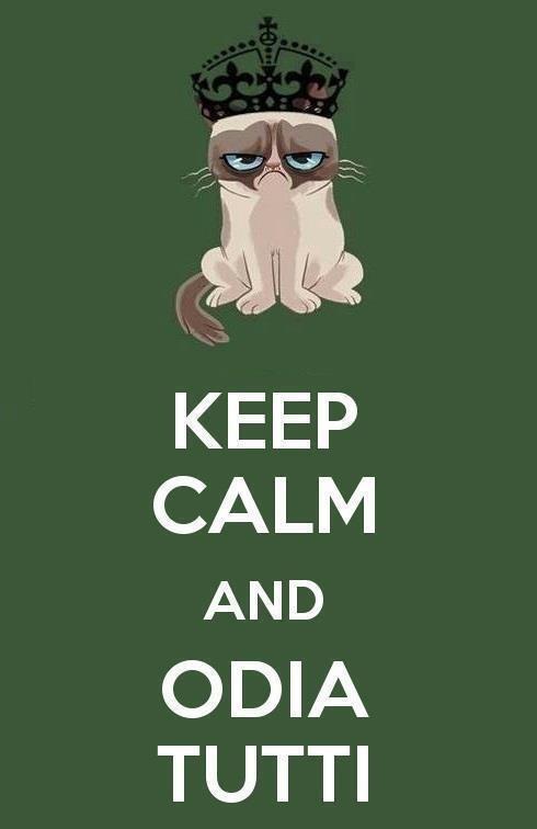 Keep Calm and  Odia Tutti