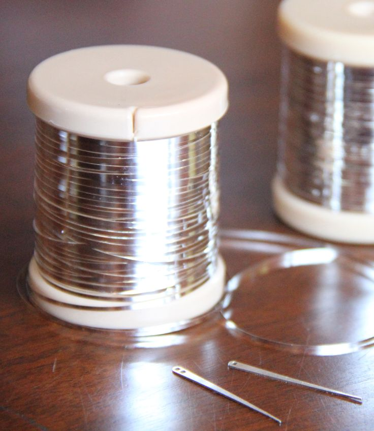 Metal and needles for making assiut - assuit - asyut - tulle bi telli!  Photo by Laura Thompson