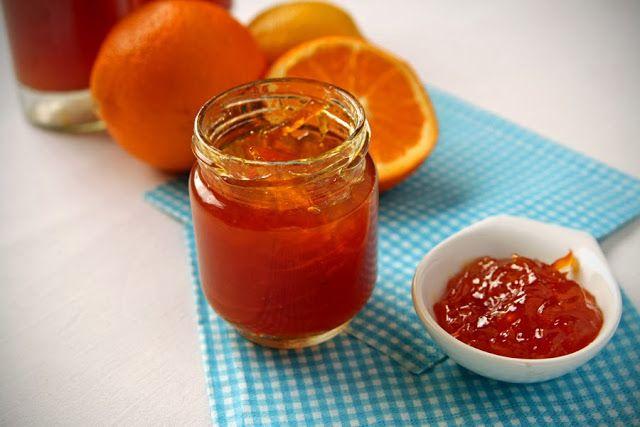 między kuchnią a pokojem: konfitura pomarańczowa