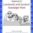America's Landmarks and Symbols Scavenger Hunt This scavenger hunt introduces students to information and fun facts about America's Landmarks and S...