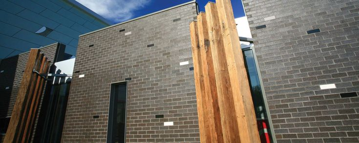 Love austral zinc brick with natural timber