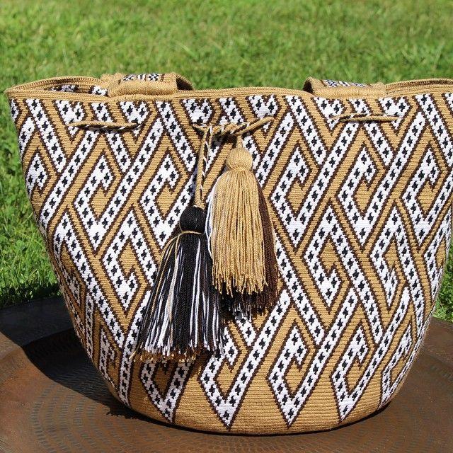 One of our new tote bags!! #Wayúu #wayuu #handmade #SoWa #southend #Boston…
