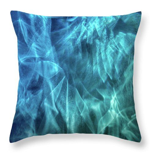 "Spirits Of The Ocean Throw Pillow by Jane Star.  Our throw pillows are made from 100% spun polyester poplin fabric and add a stylish statement to any room.  Pillows are available in sizes from 14"" x 14"" up to 26"" x 26"".  Each pillow is printed on both sides (same image) and includes a concealed zipper and removable insert (if selected) for easy cleaning."