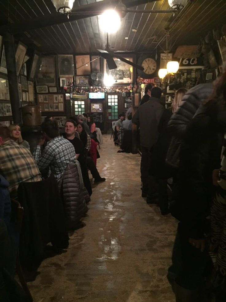 Photo of McSorleys Old Ale House - New York, NY, United States. Sawdust on the floor!