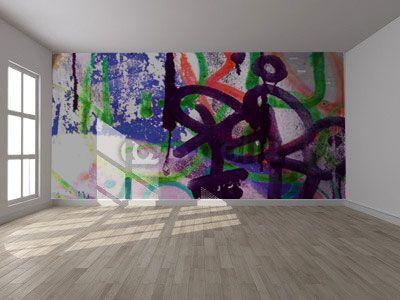 Création sur mesure d'un décor XXL en papier peint. Design mural, Karine Montreuil, Atelier Kaali. http://design-mural.com/
