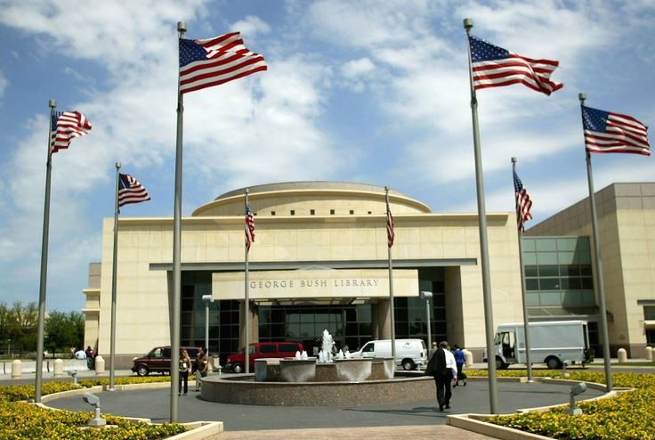 George+Bush+Presidential+Library | Presidential Library Buildings, George Bush Library in College Station ...