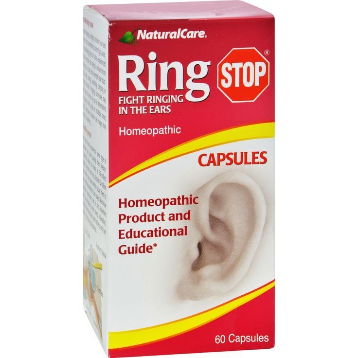 Natural Care Ring Stop Description: Fight Ringing in the Ears--Tinnitus Symptoms--Ear Noise--Sensitivity to Sound RingStop contains the highest quality, all-natural proprietary, homeopathic formula in