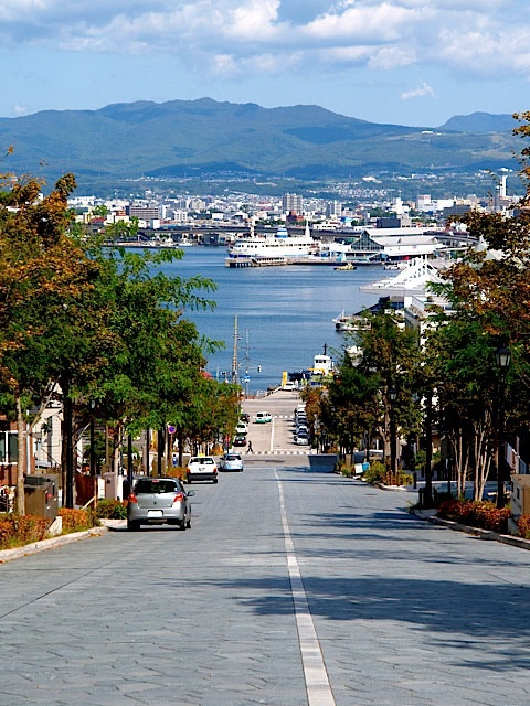 Hachimanzaka, Hakodate, Hokkaido 北海道 函館