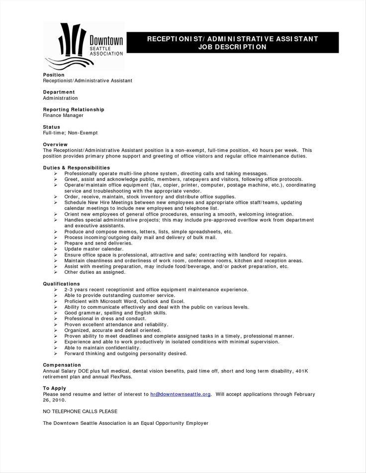 Career Change Resume Sample New Resume Best Ideas Client Free - office assistant job description