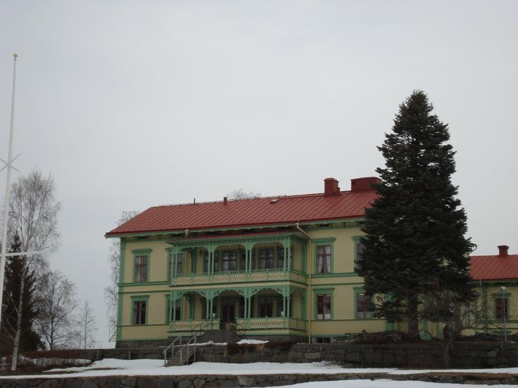 Stenegård restaurant, Järvsö, Birthplace of Emma Johanna Strand 1890 (KWC6-V8W)  Jarvso, Gavleborg, Sweden