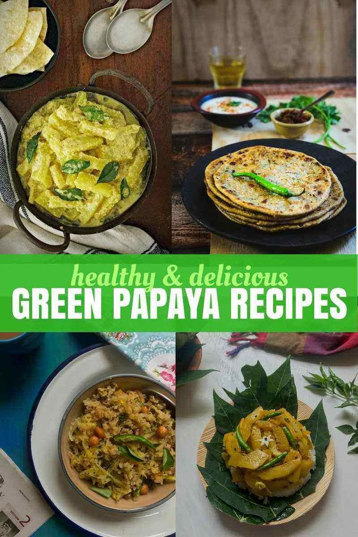 All you want to know about Raw Papaya | Green Papaya – Green Papaya Recipes, health benefits, how to cook raw papaya and a whole bunch of other ideas on cooking with green papayas