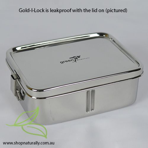 Australia's first leakproof rectangular stainless steel lunch box. Purchase bento dividers for bento conversion.
