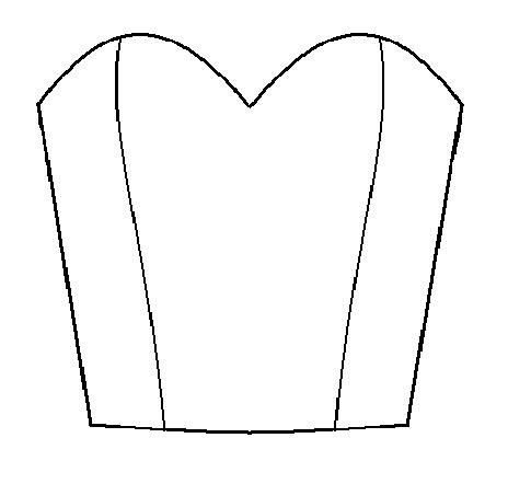 Draft a bodice with sweetheart neckline | American girl ...