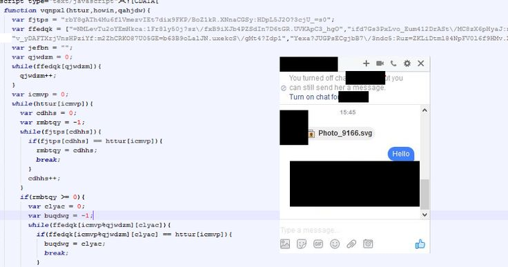 Spammers using Facebook Messenger to Spread Locky Ransomware