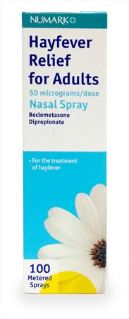 Numark Hayfever Relief Spray 100 DOSES Numark Hayfever Relief Spray 100 DOSES: Express Chemist offer fast delivery and friendly, reliable service. Buy Numark Hayfever Relief Spray 100 DOSES online from Express Chemist today! (Barcode EAN=5 http://www.MightGet.com/january-2017-11/numark-hayfever-relief-spray-100-doses.asp