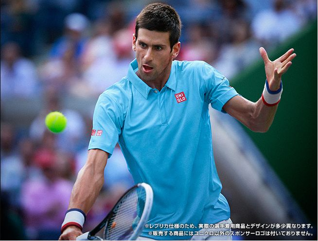 Novak Djokovic Uniqlo outfit