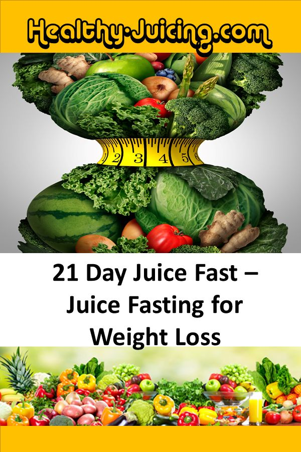 Get your juice fast 21-day plan and start juice fasting for weight loss today.  ...