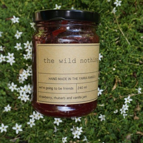 A delicious blend of strawberry, rhubarb and vanilla – a jam so magical, it won't last long in your household! we use seasonal fruit so our preserves are not available all year round – get them while you can!