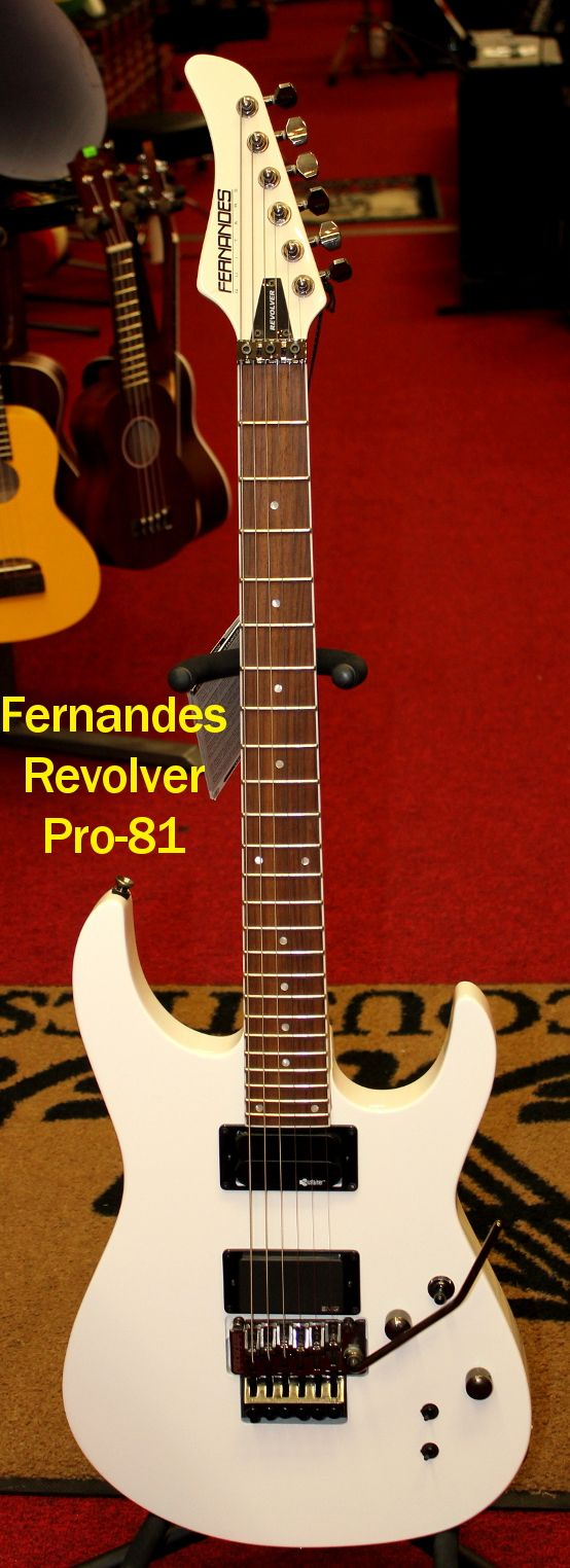 2010 Fernandes Revolver Sustainer Pro-81 Electric Guitar For Sale in Watertown, NY
