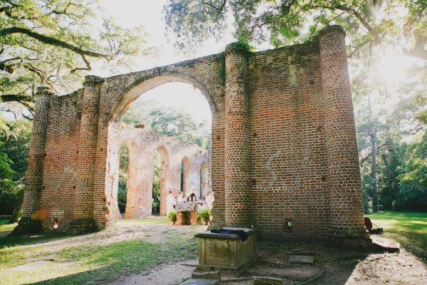 Wedding Venue: Old Sheldon Church Ruins in Yemassee, South Carolina  This place is beautiful. Totally did not know you could get married there!