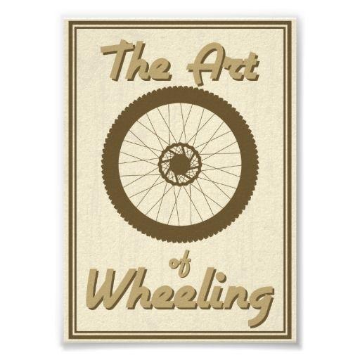 Art of wheeling poster
