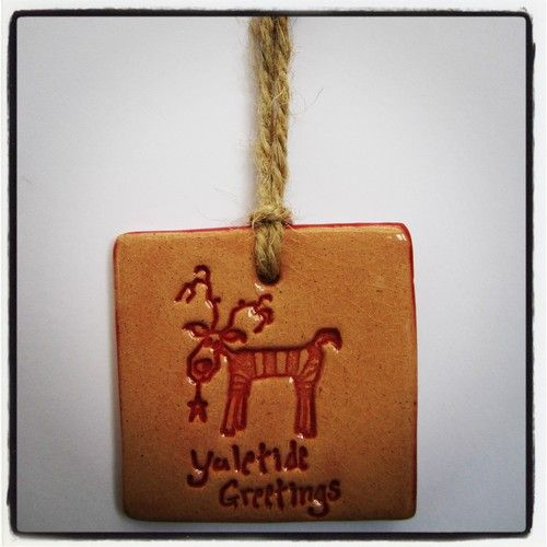 NEW! Beautiful Handmade Ceramic Christmas Decorations made in Wales! One for £5.99 or two for just £9.99!