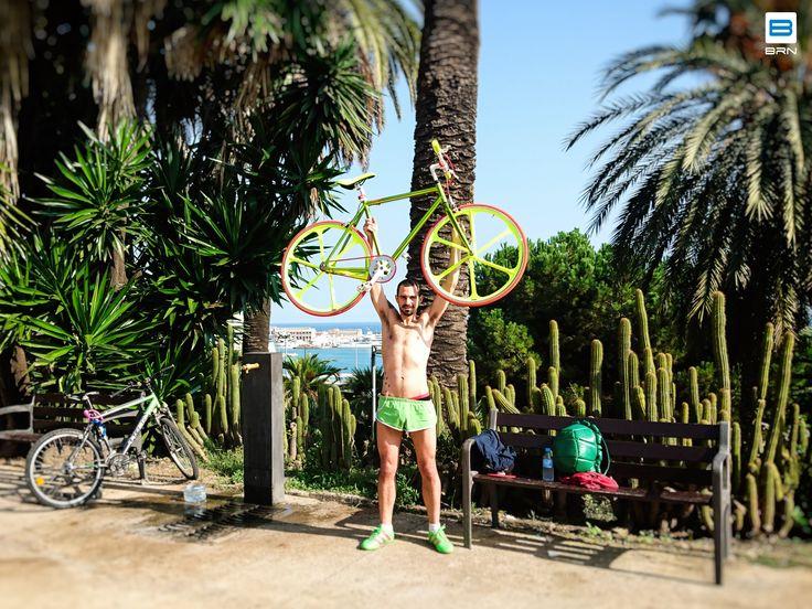 #barcelona #fixed #bike #brn #bicicleta #summer #alejandro