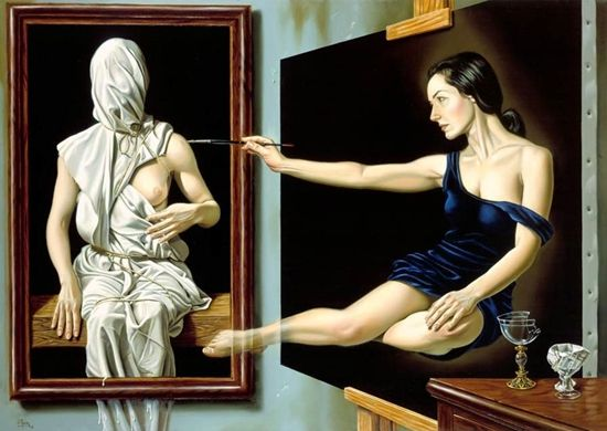 ImpressioniArtistiche: Juan Medina 1950 | Mexican Surreal Hyperrealist painter