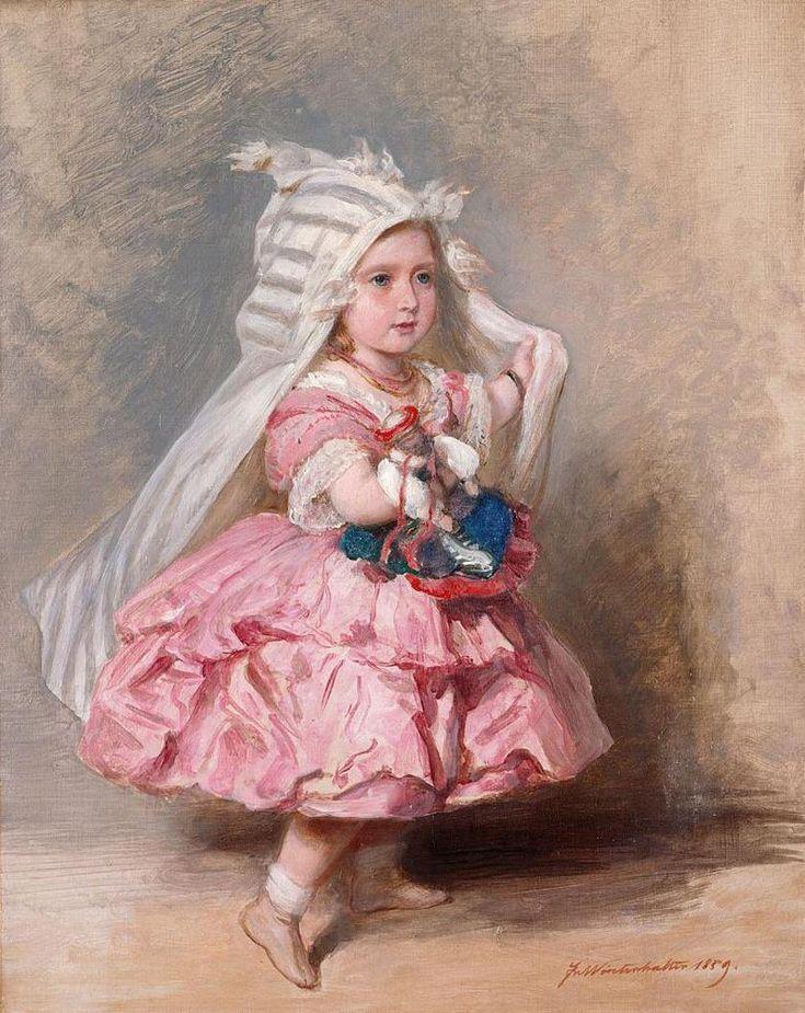 Princess Beatrice,by Franz Xaver Winterhalter Meisje
