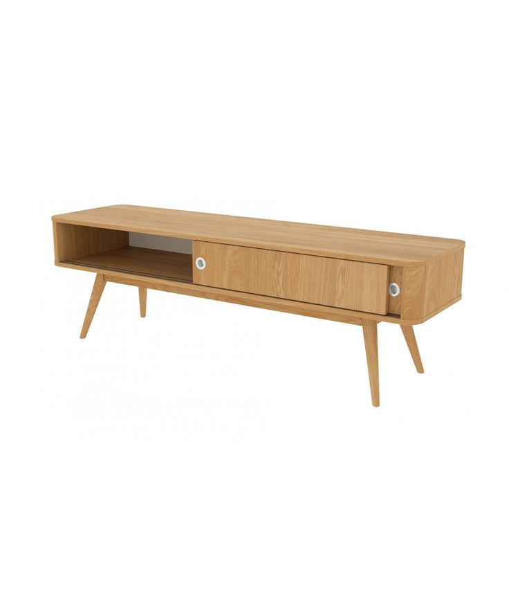 Finn TV unit, large Oak | Home Office Furniture - Easterly