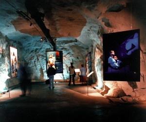 Elisabeth Ohlson Wallin, Ecce homo, visades första gången i ett bergrum 1998.