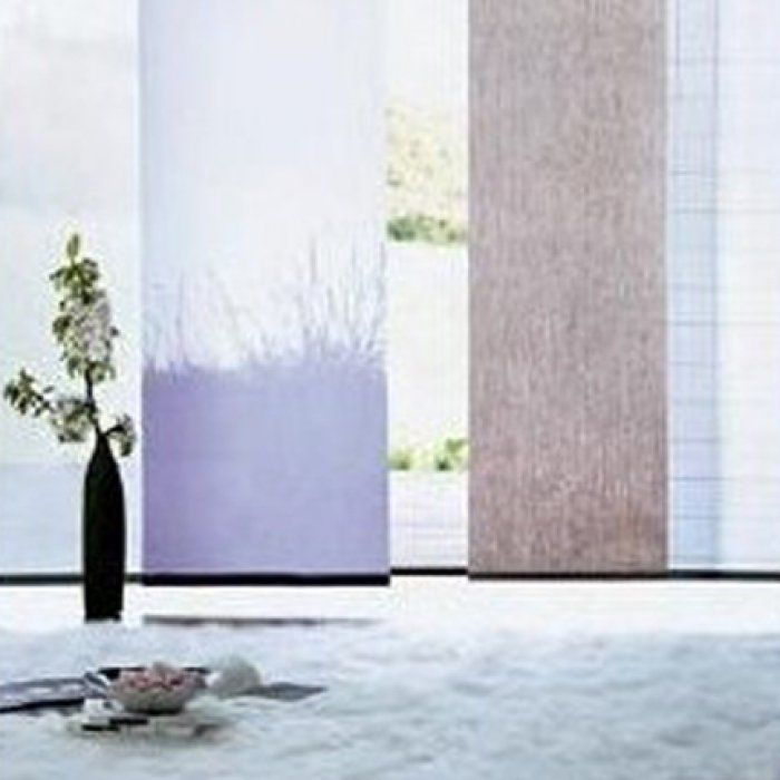 Stunning Style Zen Avec Des Panneaux Japonais With Rideau