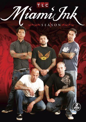 """Miami Ink. """"5 tattoo artists move to South Beach to open up a tattoo shop."""" seasons 5  6 are available on Netflix"""