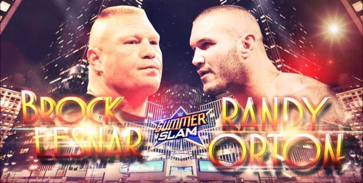 WWE Summerslam 2016 : Randy Orton Vs. Brock Lesnar | Brock Lesnar vs. Randy Orton Summerslam 2016 Subscribe For First Raw Look: https://www.youtube.com/channel/UCAB24b-tONn0xIs8fq4UW1Q