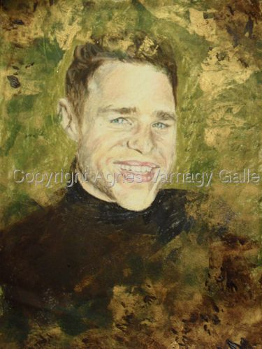Portrait of Olly Murs by Agnes Varnagy Gallery