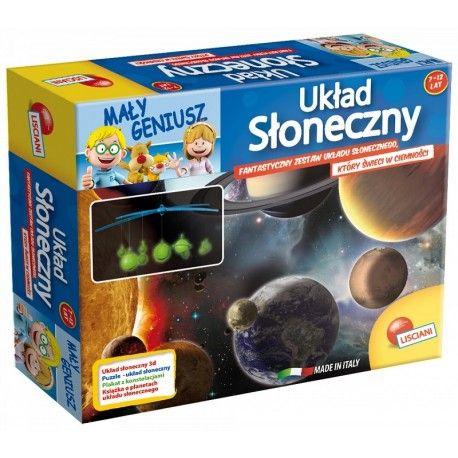 """Witajcie,   Kolejny zestaw serii Mały Geniusz, tym razem """"Poznaj Układ Słoneczny"""" od Lisciani dla Dzieci od 7-12 lat.  Stwórz prawdziwy model """"Układu Słonecznego"""" z Plastikowych Fluorescencyjnych Planet świecących w ciemności.   Zobacz co znajduje się w zestawie:)  http://www.niczchin.pl/gry-edukacyjne-dla-dzieci/2924-maly-geniusz-poznaj-uklad-sloneczny-lisciani.html  #malygeniusz #graedykacyjna #poznajukladsloneczny #zabawki #niczchin #krakow"""